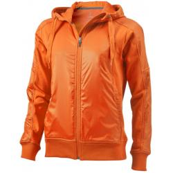 Dam Fraser hoodie med helt blixtlås