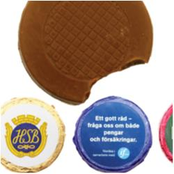 Rund chokladbit 5g