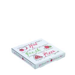 Pizzakartong med fullfärgstryck